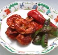 海老の韓国焼き