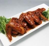 鶏肉の甘熟黒酢煮