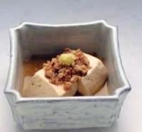 豆腐の葛煮