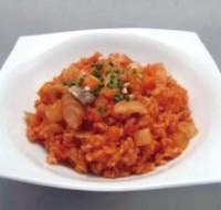 鮭と根菜の炊き込みご飯
