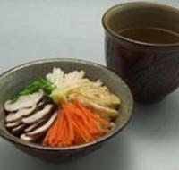 沖縄風五色茶漬け(菜飯:セーファン)