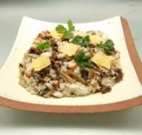 牛肉と秋野菜のチラシ寿司