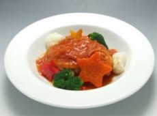 鶏もも肉と冬野菜のカラフルカチャトーラ
