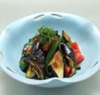 夏野菜たっぷりスタミナ冷やし鉢