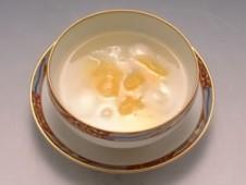 みかんと生姜のホット白玉