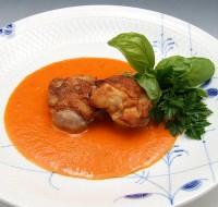 鶏肉のソテー パプリカソース