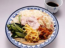 干し海老つゆの素麺