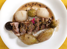 冬野菜と豚肉の鍋ロースト